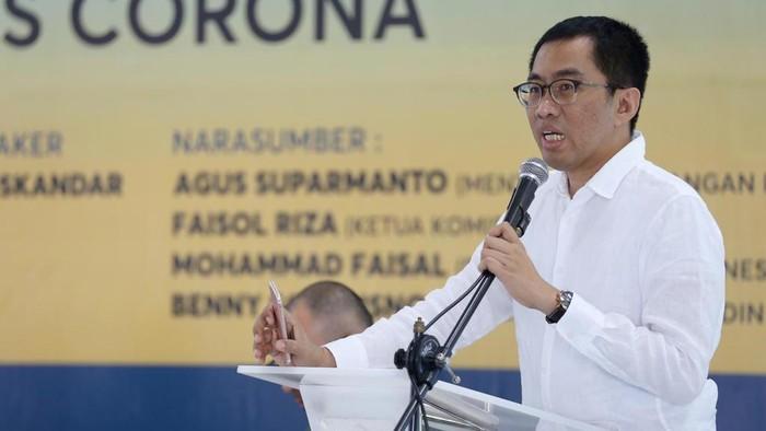 Faisol Riza Pimpin Rapat Komisi VI DPR RI