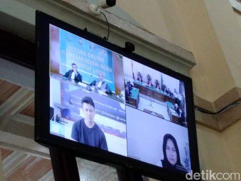 Sidang Pembunuhan Hakim Jamaluddin Digelar Online, Terdakwa Tetap di Rutan