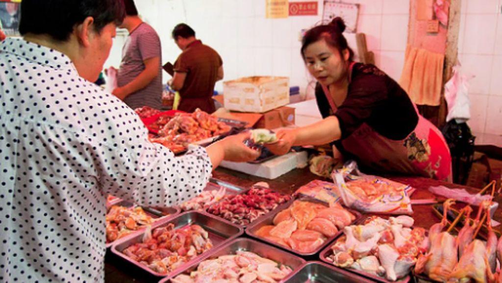 Pasar Wuhan Kembali Jual Hewan Liar Hingga Khasiat Minum Teh Tawar