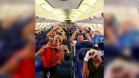 Sisi Lain Corona di AS, Penerbangannya Kini Penuh Petugas Medis