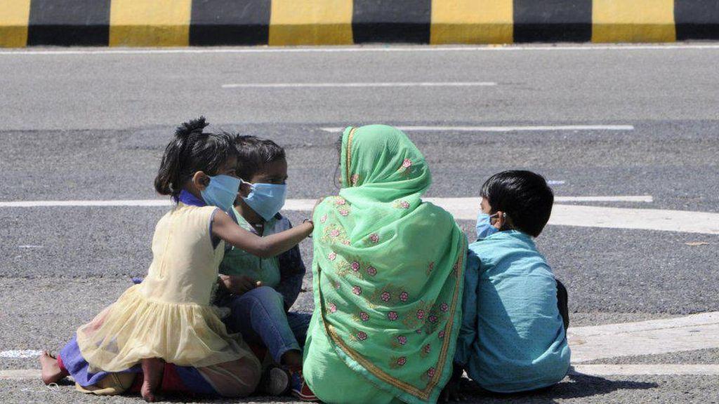 Saat Lockdown Cegah Corona di India Berubah Jadi Tragedi Kemanusiaan