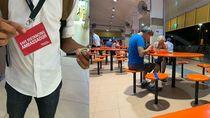 Pengawas Social Distancing di Hawker Centre Singapura Digaji Rp 28 Juta