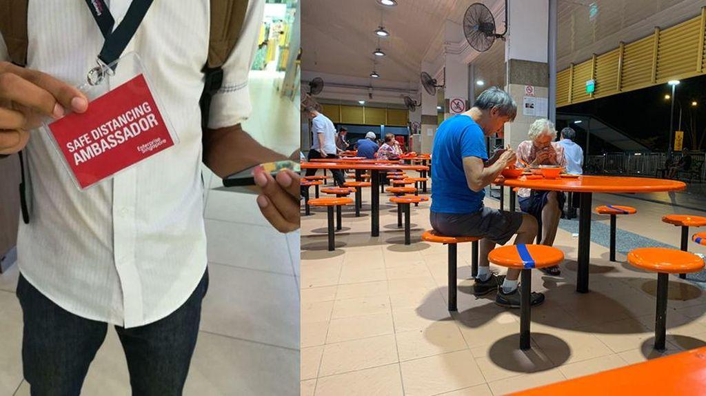 Bisa Didenda Rp 10 Juta, Begini Aturan Jaga Jarak Cegah Corona di Singapura