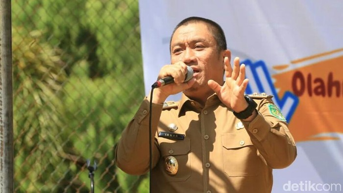 Wakil Bupati Luwu Timur (Wabup Lutim) Irwan Bachri Syam (M Riyas/detikcom)