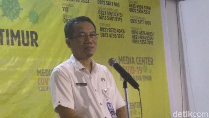 Plt Kepala Dinas Kesehatan Kaltim, Andi M Ishak (Suriyatman/detikcom)