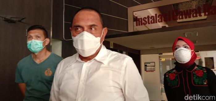 Gubsu Edy Rahmayadi Cek RS Rujukan Corona