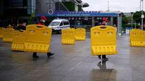 Suasana Jelang Pencabutan Lockdown di Wuhan
