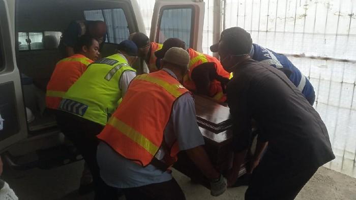 Jenazah WN Selandia Baru korban penembakan KKB di Freeport (Dok. Polda Papua)