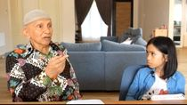 Nge-vlog Bareng Cucu, Amien Rais Bicara Virus Corona Tentara Allah