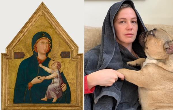 Syaratnya, netizen harus memilih salah satu karya seni dan mengkreasikannya dengan 3 benda yang ada di rumah. (Getty Museum)