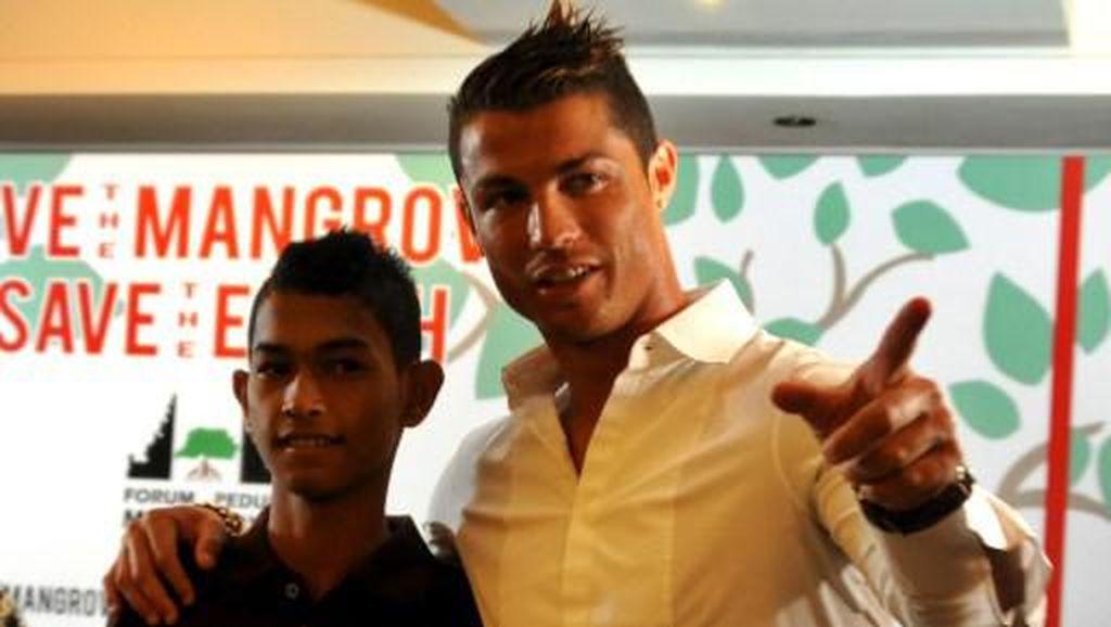 Momen Cristiano Ronaldo dengan Martunis, yang Kini Resmi Menikah
