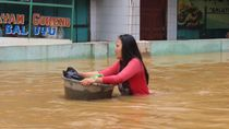 Tim SAR Gabungan Pantau Banjir di Kabupaten Bandung