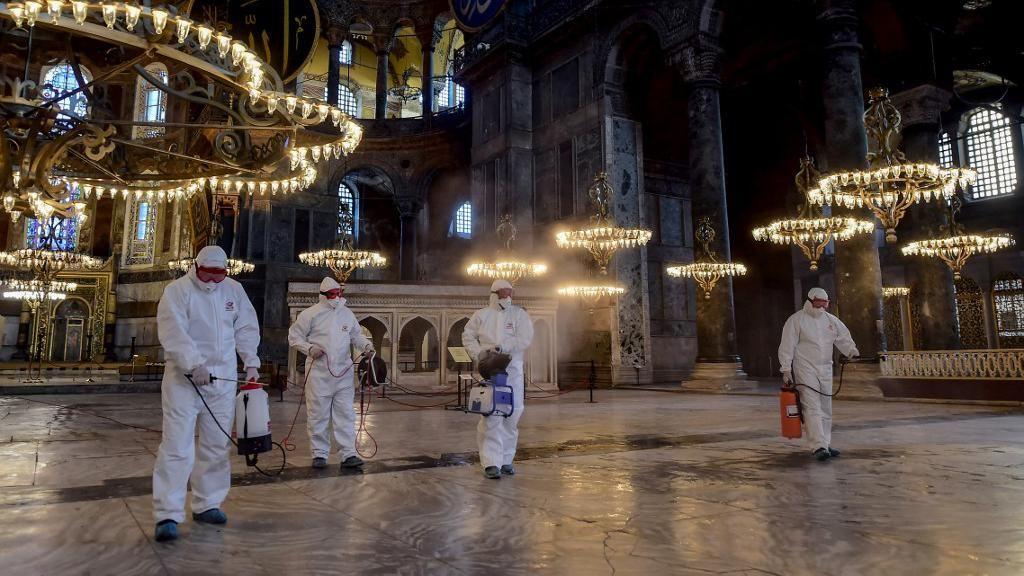 Pandemi Virus Corona, Turki Kirim Bantuan Medis ke Italia dan Spanyol