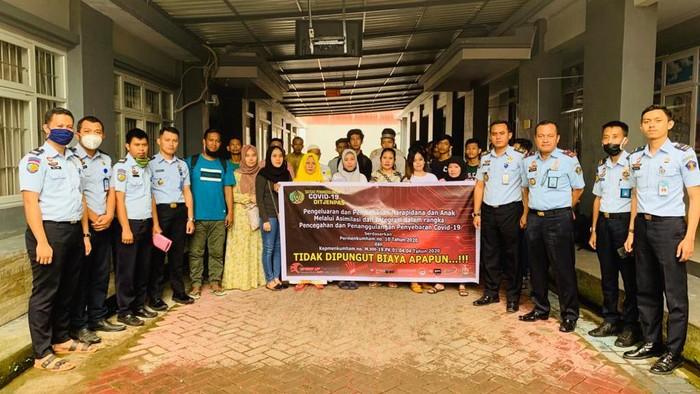 31 tahanan di Rutan Kelas I Makassar dikeluarkan untuk mencegah Corona (dok. Istimewa)
