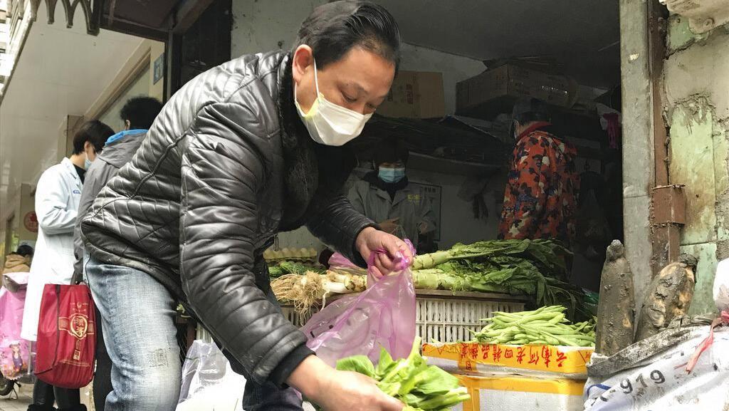 Geliat Pasar di Wuhan Kembali Berdenyut