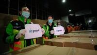 Gojek Impor 5 Juta Masker untuk Driver