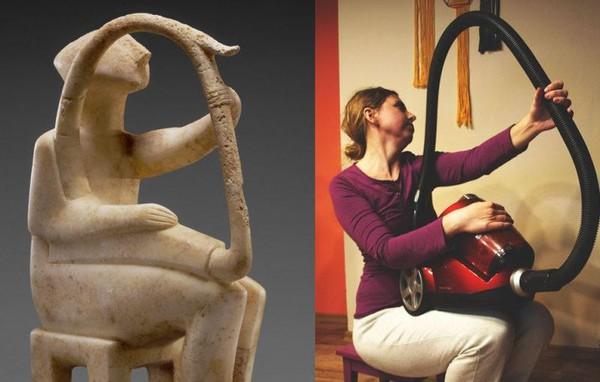 Tantangan ini berisi ajakan untuk mengkreasikan ulang karya seni dunia yang ada di dalam Museum Getty. (Getty Museum)