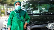 Cerita Driver GrabCar, Tetap Antar Penumpang Saat Darurat Corona