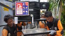Terlalu! Wastafel Portable yang Disebar di Surabaya Banyak yang Hilang