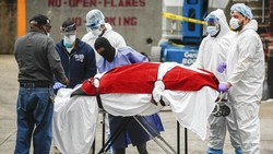 Video Kuburan Massal Jenazah Korban Corona di New York