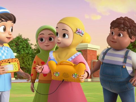 Animasi Hafiz Hafizah