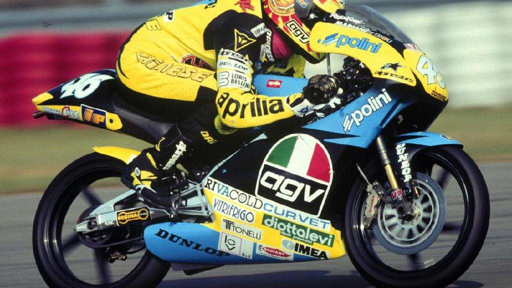 Merayakan 26 Tahun Valentino Rossi di Balapan Grand Prix