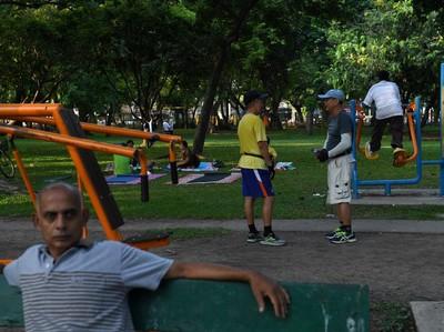 Bangkok Tutup Taman untuk Setop Corona