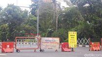 Imbas Corona, Hari ini Jalan Darmo dan Tunjungan Ditutup Selama 2 Minggu