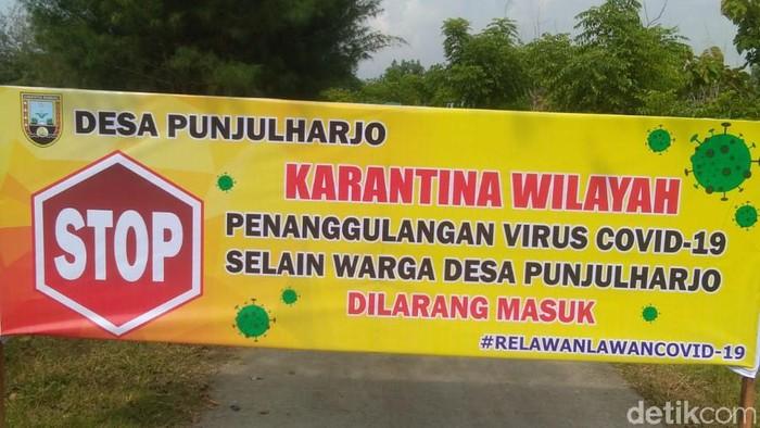 Sejumlah desa di Rembang terapkan karantina wilayah