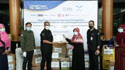 CT ARSA dan Transmedia Salurkan Donasi ke RS untuk Penanganan Corona