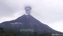 Gunung Merapi Erupsi Lagi Sore Tadi, Begini Penjelasan BPPTKG