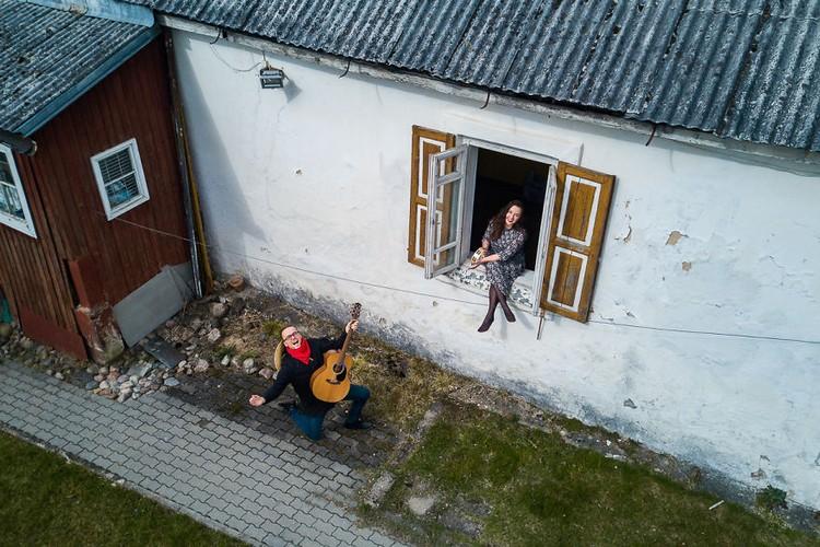 Di Rumah Aja Drone