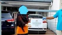 Foto di Rumah Bermobil, Ibu Ini Dituduh Tak Layak Terima Bantuan Corona