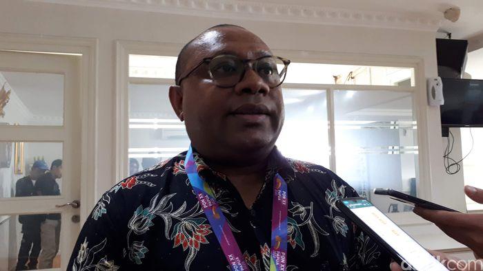 Pelaksana Tugas Kepala Dinas Pendidikan Pemuda dan Olahraga (Kadispora) Papua, Alexander K.Y Kapisa
