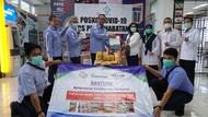KKP Salurkan Bantuan Protein untuk Tenaga Medis
