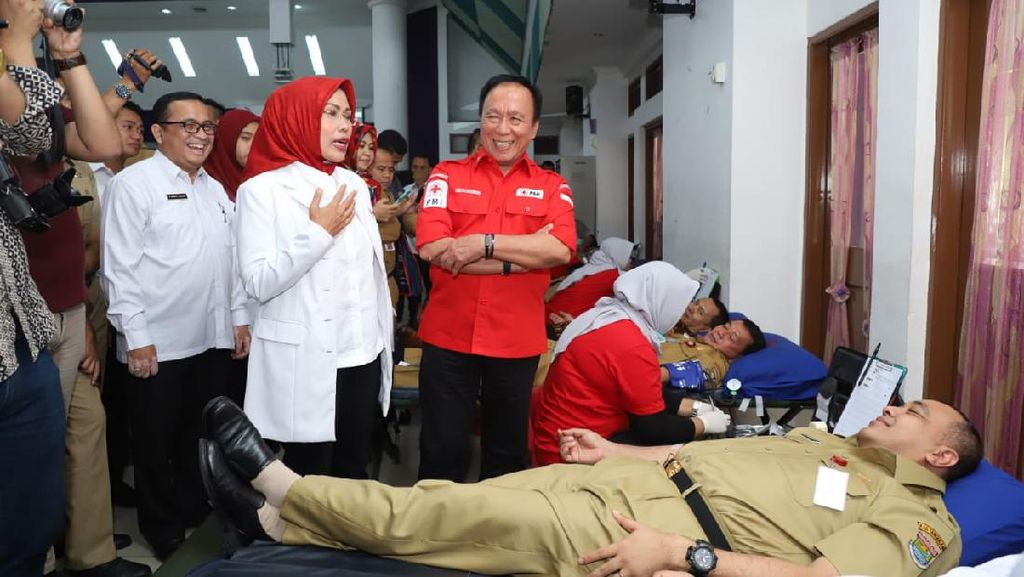 Stok Darah Menipis, PMI Banten Ajak Relawan Rutin Donor Darah