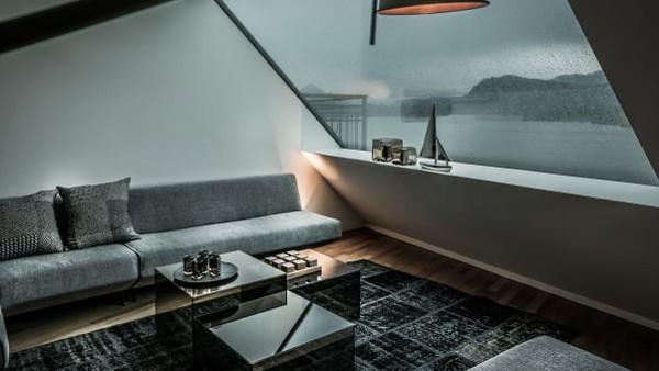 Apartemen Le Bijou berukuran sedang (100 meter persegi), seperti kamar suite hotel yang biasanya seharga sekitar USD 1.000 per malam, tarifnya turun menjadi USD 500-600. Tes Corona adalah layanan tambahan seharga USD 500 (Foto: Le Bijou/CNN)