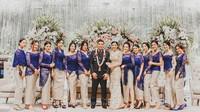Awkarin dan Putra Wishnutama Jadi Pendamping Pernikahan Kapolsek Kembangan