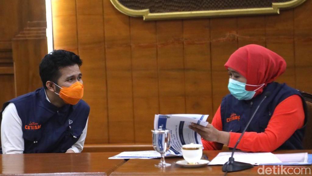 49.829 Tenaga Medis dan Relawan Siap Perangi Corona di Jawa Timur