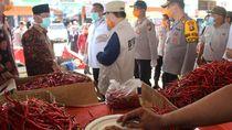 Sidak Pasar, Kapolda Jambi Minta Warga Tak Timbun Sembako Gegara Corona