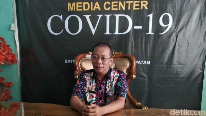 Juru bicara Pusat Informasi Covid-19 Ciamis Bayu Yudiawan