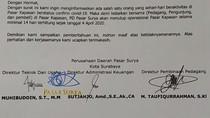 Pasar Kapasan Surabaya Akan Ditutup Cegah Penyebaran Corona