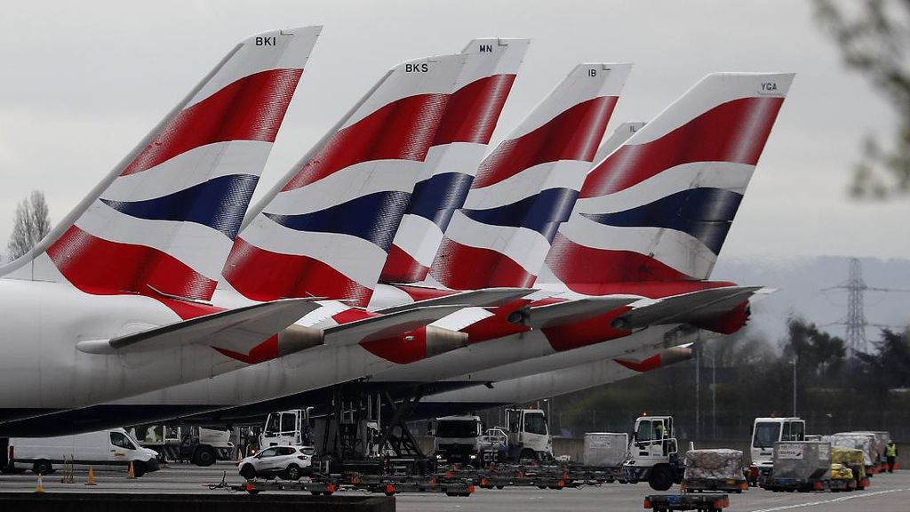 Penumpang Protes Tak Ada Jaga Jarak di Pesawat British Airways