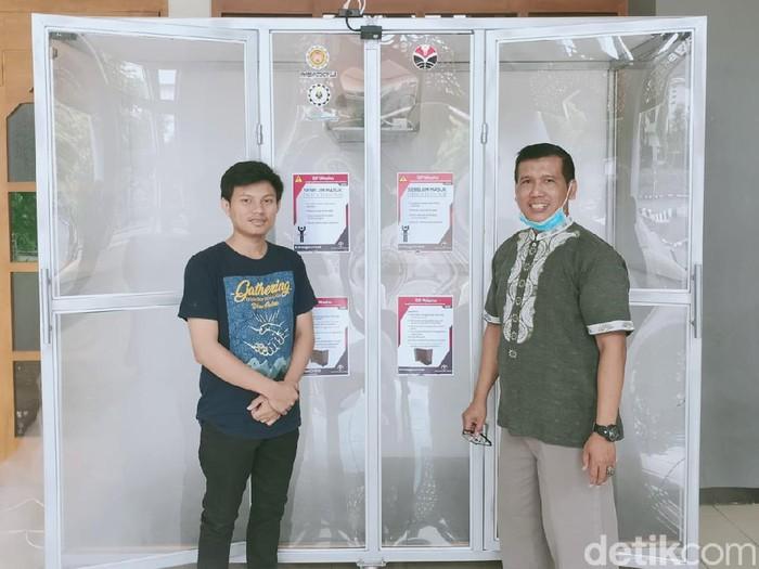 UPI buat dual bilik disinfektan