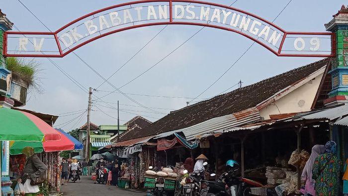 Pasar Babadan di Klaten