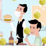 Bertahan Hidup di Kala Corona, Restoran Berubah Jadi Toko Kelontong