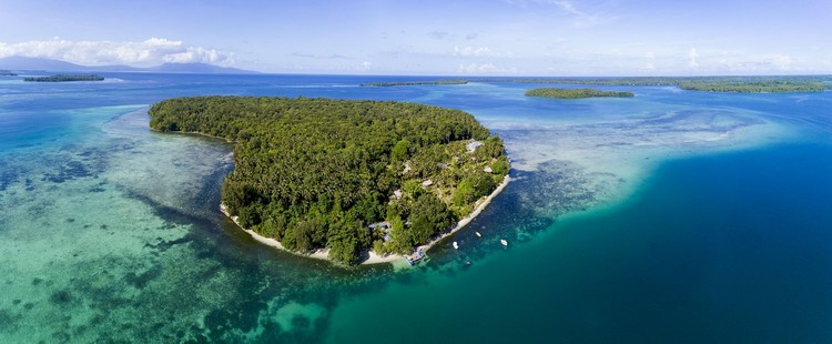 Kepulauan di Samudera Pasifik.