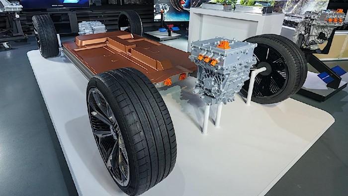 Platform dan baterai ultium mobil listrik Honda