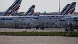 Pesawat Air France Diancam Bom di Tengah Penerbangan ke Paris