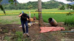 Mayat Perempuan Ditemukan Tergeletak Dekat Persawahan di Sukabumi
